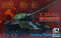 Tank T-34/85 mod.1944 Factory No.183, full interior kit