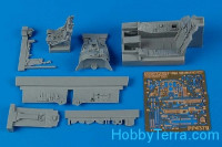 F-105D Thunderchief cockpit set (Hobby Boss)