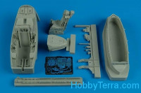 F-22A Raptor cockpit set, for Academy kit