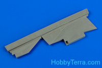 Correct tail fin for MiG-23 MF/ML Flogger