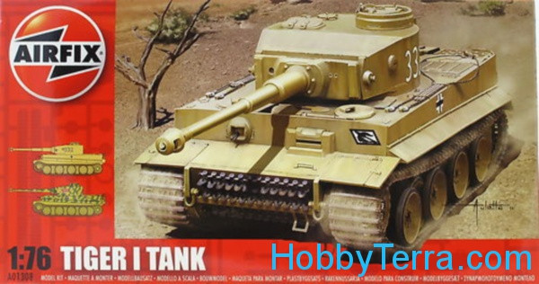 Tiger I tank - Series 1 (1:76 scale)