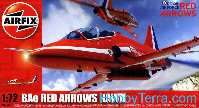 Red Arrows Hawk ground-strike aircraft