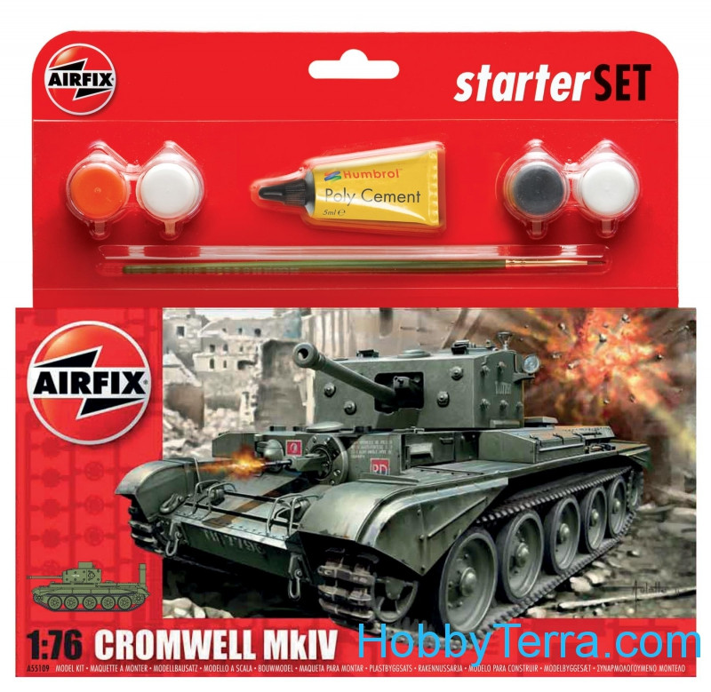 Model Set. Cromwell Mk.IV tank