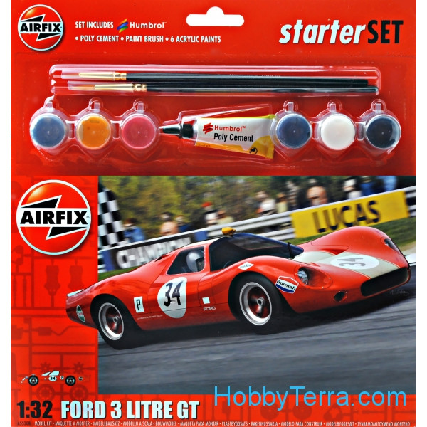 Gift Set. Ford 3 Litre GT