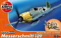 Messerschmitt Bf109 (assembly without glue)