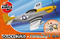 Mustang P-51D, QuickBuild for kids