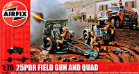 25 PDR Field Gun and Quad
