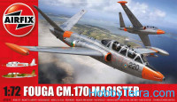 Fouga CM.170 Magister fighter