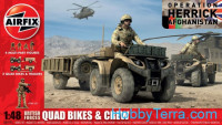 British Forces QUAD Bikes/crew