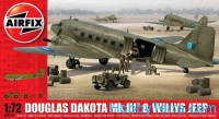 Douglas Dakota MkIII with Willys Jeep
