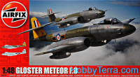 Gloster Meteor F8 fighter