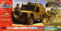Model Set. British Forces - Land Rover Patrol