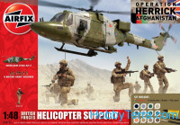 Model Set. British Forces Helicopter support