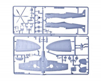 Airfix  55100A Supermarine Spitfire MkIa Starter Set (including paint, glue & brushes)