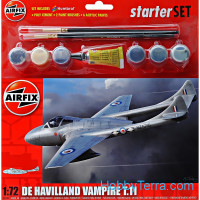 Starter Set. De Havilland Vampire T11