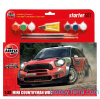Starter Set 1:32. MINI Countryman WRC
