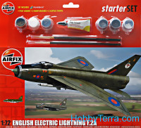 Starter Set. English Electric Lightning F2A