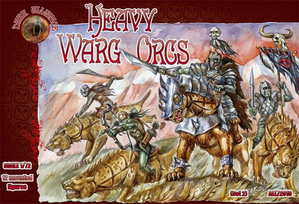 Alliance  72010 Heavy Warg Orcs