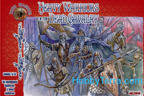 Alliance  72014 Heavy warriors of the Dead Cavalry