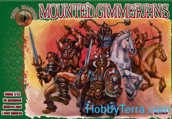 Mounted Cimmerians