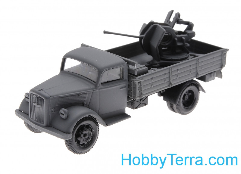 1:87 Opel Blitz with AA gun, Eastern front
