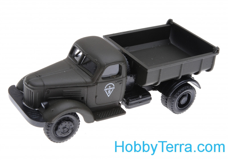 1:87 Zil-164 dumper, green color