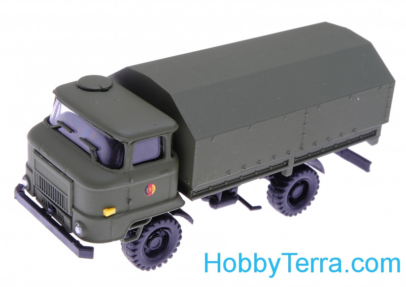 1:87 IFA truck DDR Army, green color