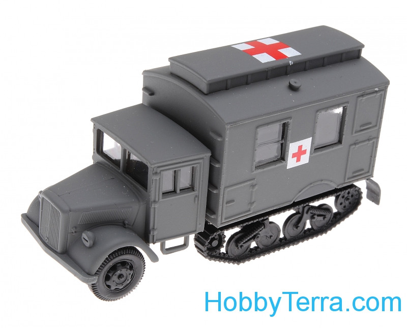 1:87 Opel maultier ambulance, grey color