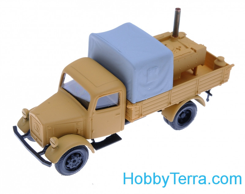 1:87 Mersedes kitchen, sand color
