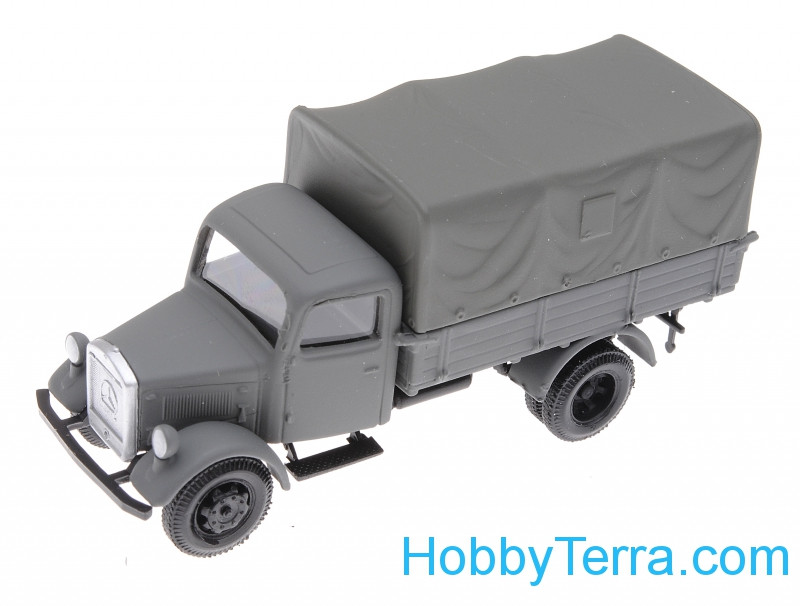 1:87 Mersedes L3000 truck with tent