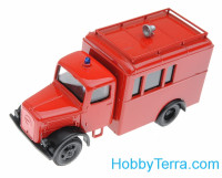 1:87 Deutz police truck, red color
