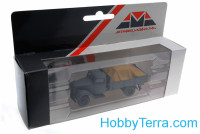 1:87 Ford V3000 cargo, grey color