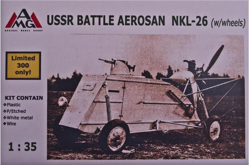 NKL-26 Aerosan (aerosledge, snowmobile) on wheels