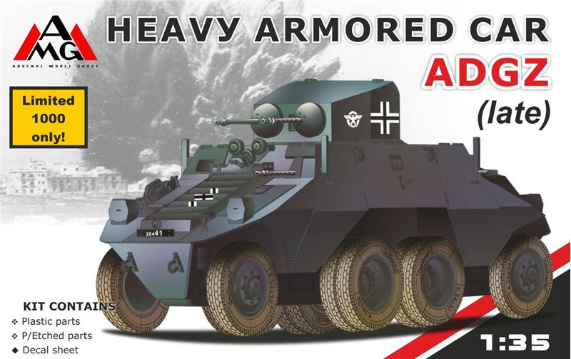 AMG Models  35502 Heavy Armored Car ADGZ (late)