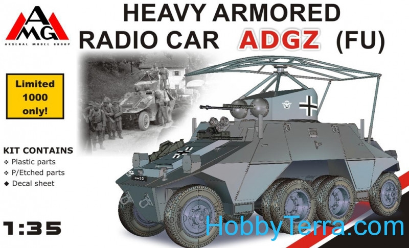 AMG Models  35504 Heavy Armored Radio Car ADGZ  (FU)