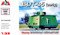 BDT - 35 Heavy Armored railroad car, WWII
