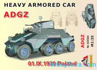 Heavy Armored Car ADGZ (I.IX.1939 Poland)