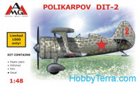 Polikarpov DIT-2 fighter (resin)