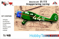 Beechcraft D.17S Staggerwing racing