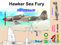 Hawker Sea Fury, T61 Pakistan AF