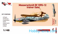 Messerschmitt Bf109G-12 (trainer), late