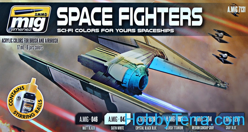 Smart Set. Space fighters SCI-FI colors