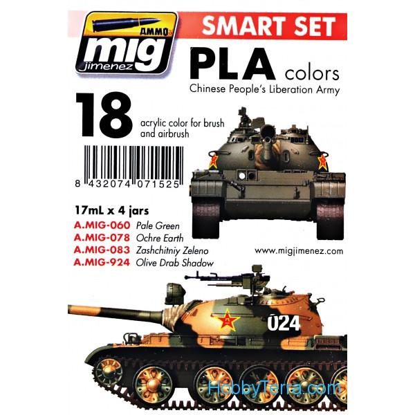 MIG (AMMO) 7152 Smart Set  PLA Modern Chinese Army