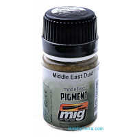 Pigment. Middle east dust