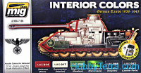 Interior Colors. German tanks, 1939-1945