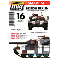 Smart Set. British Berlin camouflage colors