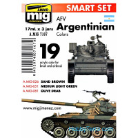 Smart set. AFV Argentinian colors
