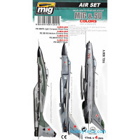 Air Set. MiG & SU Figters colors