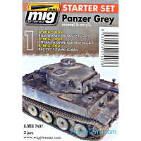 Weathering Set. Panzer grey set