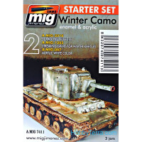 Weathering Set. Winter Camo